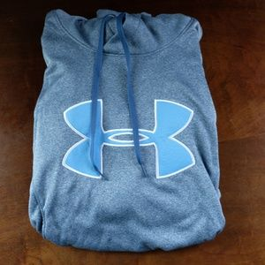 Women's Under Armour Blue Hooded Sweatshirt Large
